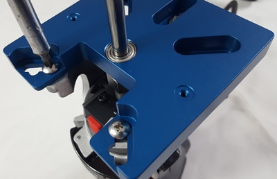 5D Tactical router adaptertop screws tightened