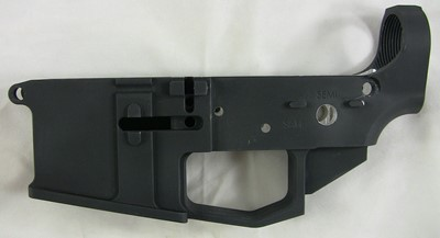 80% Arms 6061 billet lower receiver left side
