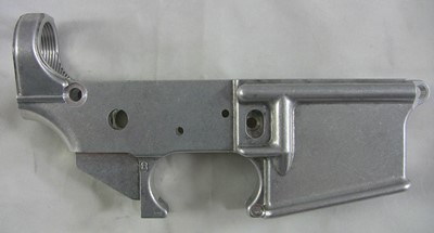 Anderson Manufacturing 7075 forged 80% lower receiver right side