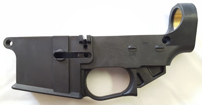 Hybrid-80 Tennessee Arms Liberator 80% lower receiver left side