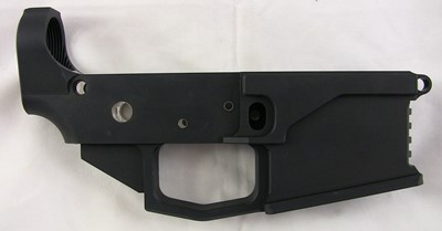 M1 Machining 80% lower receiver right side
