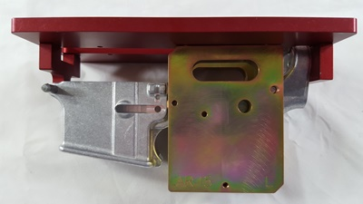 Modulus Arms Heavy Duty jig side plate installation