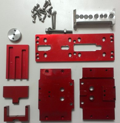 Modulus Arms AR-15 jig disassembled