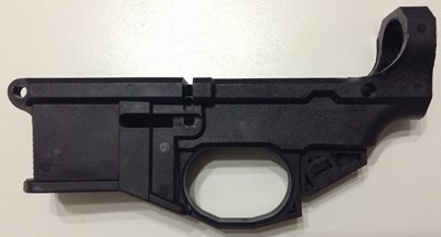 Polymer80 G150 80% lower receiver left side