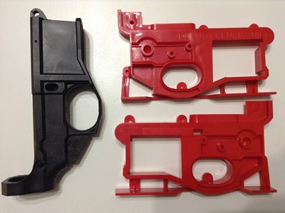 Polymer80 G150 80% lower receiver jig