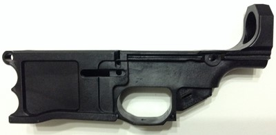 Polymer80 WarrHogg 308 AR-10 style 80% lower receiver left side