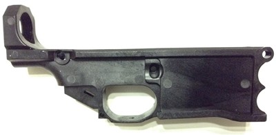 Polymer80 WarrHogg 308 AR-10 style 80% lower receiver right side
