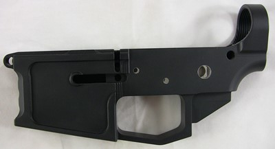 Runner Runner Guns 80% lower receiver left side