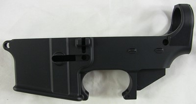 Tactical Machining 80% lower receiver left side