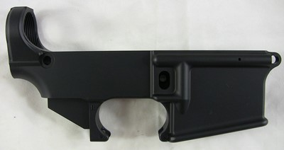 Tactical Machining 80% lower receiver right side